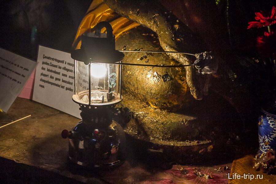 Керосиновая лампа свет дай боже!