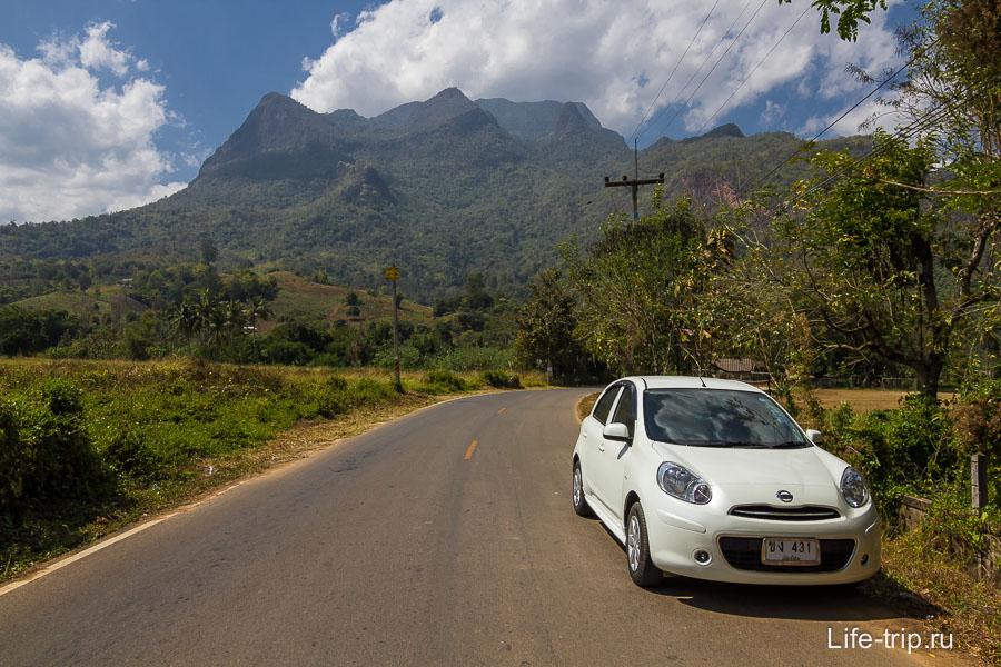 Виднеется гора Чианг Дао