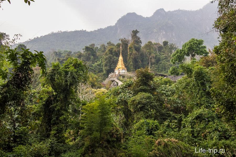 Собственно, сам храм Wat Tham Pha Plong