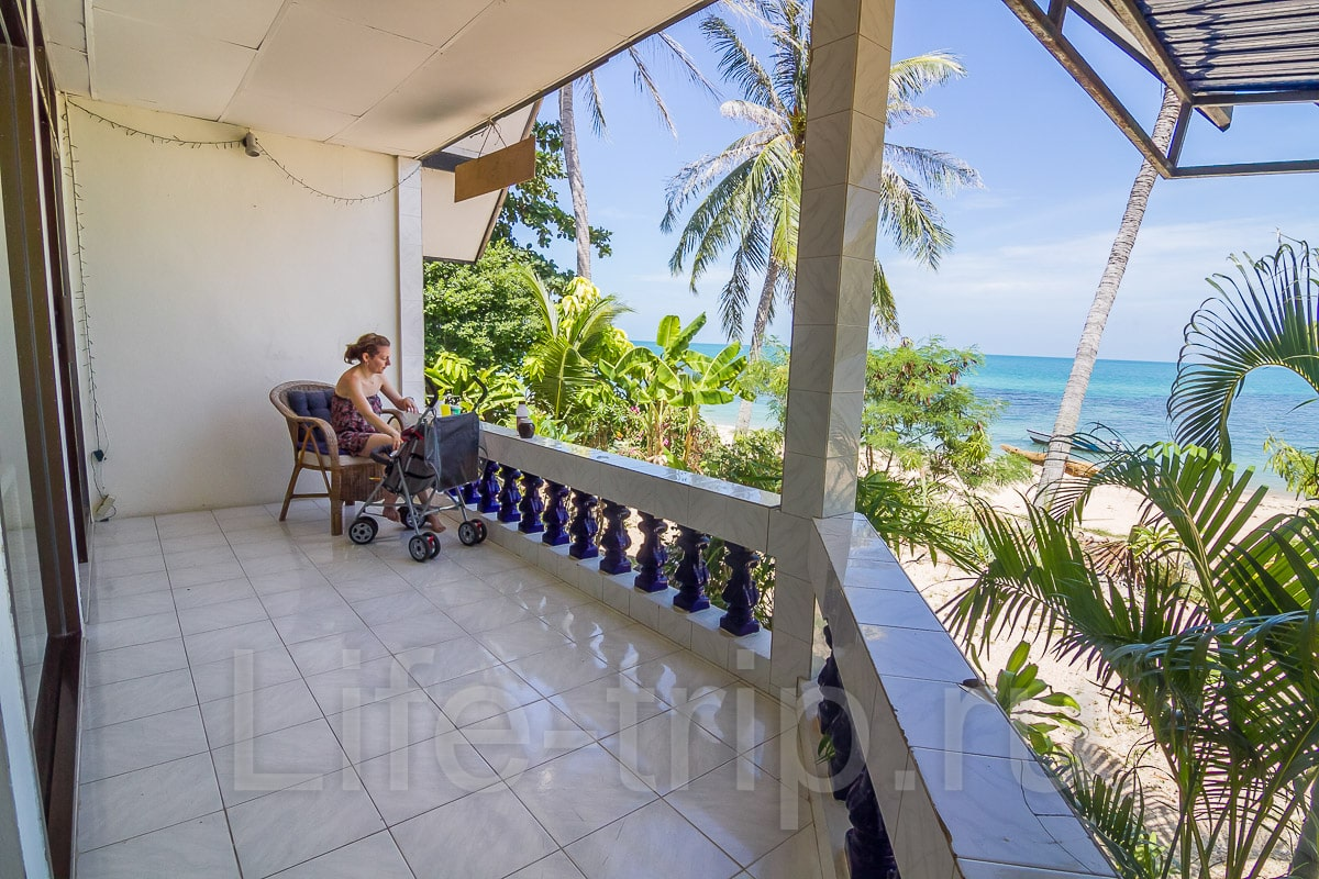 Снять апартаменты на самуи на берегу моря