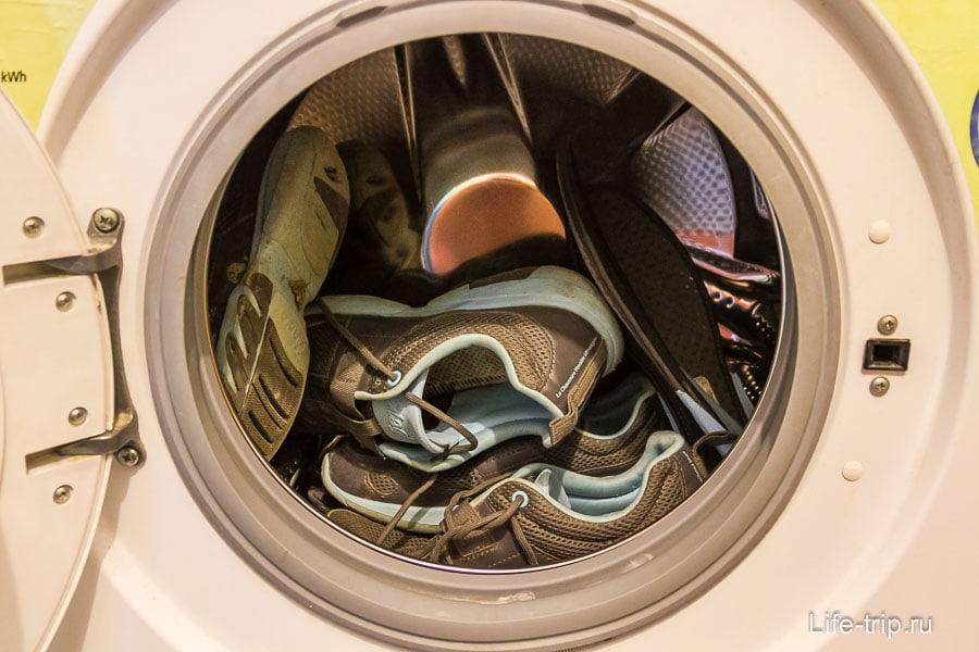 Стирать в стиральной машины можно без последствий
