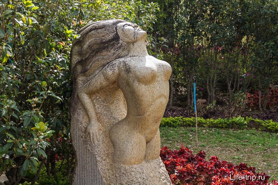 Очень живая скульптура