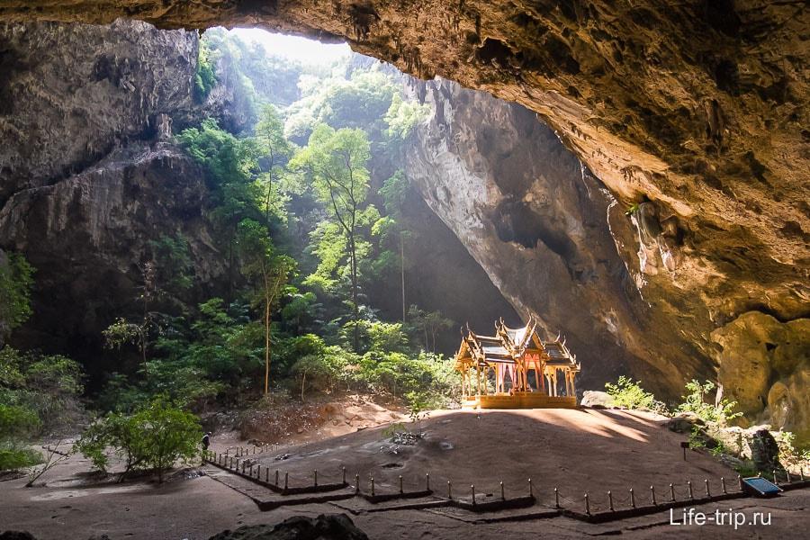 Пещера Phraya Nakhon и храм