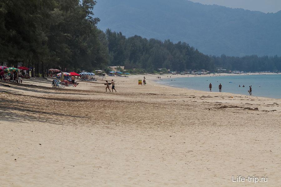Пляж Банг Тао север