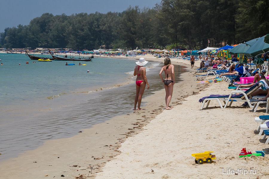 Пляж Банг Тао юг