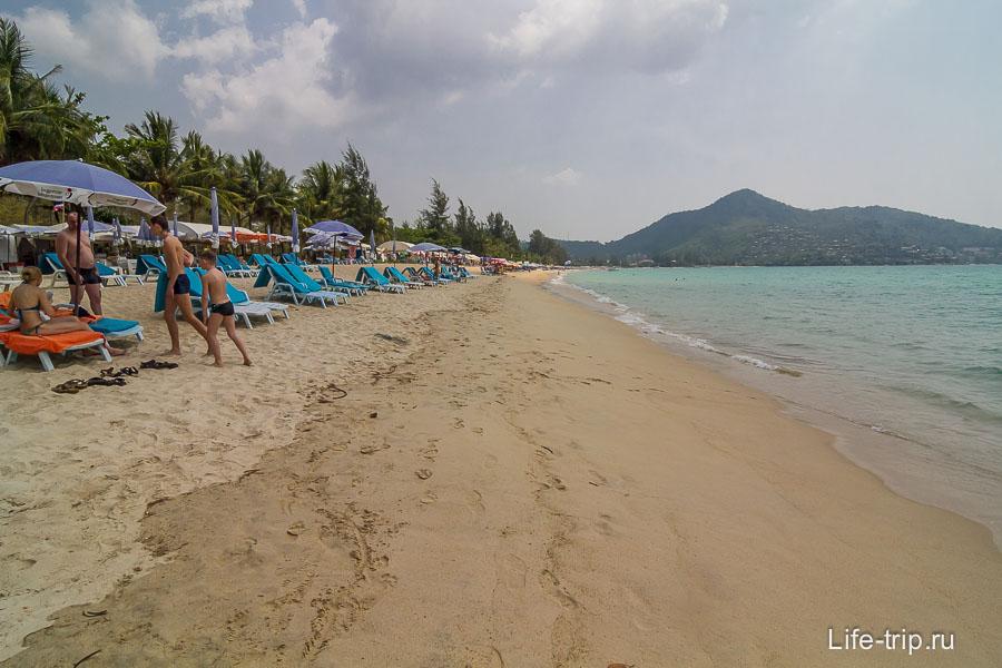 Пляж Камала север