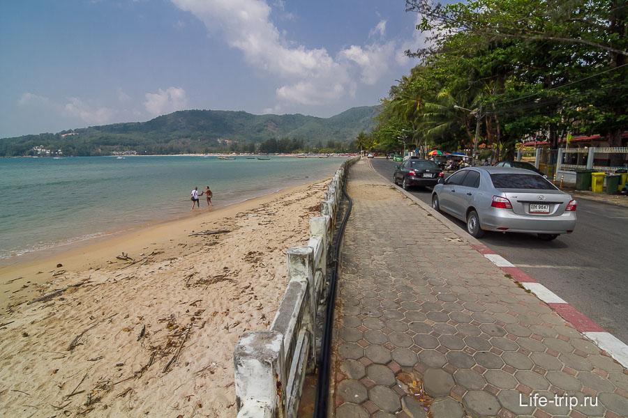 Пляж Камала юг
