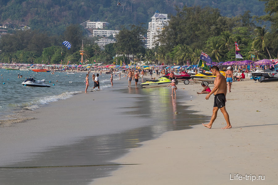 Пляж Патонг - Patong Beach