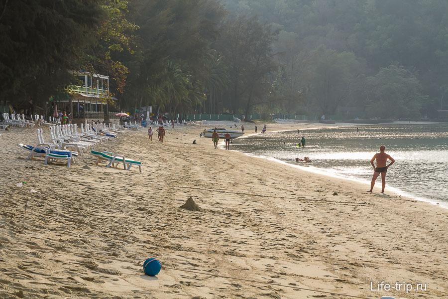 Пляж Тритранг - Tri Trang Beach