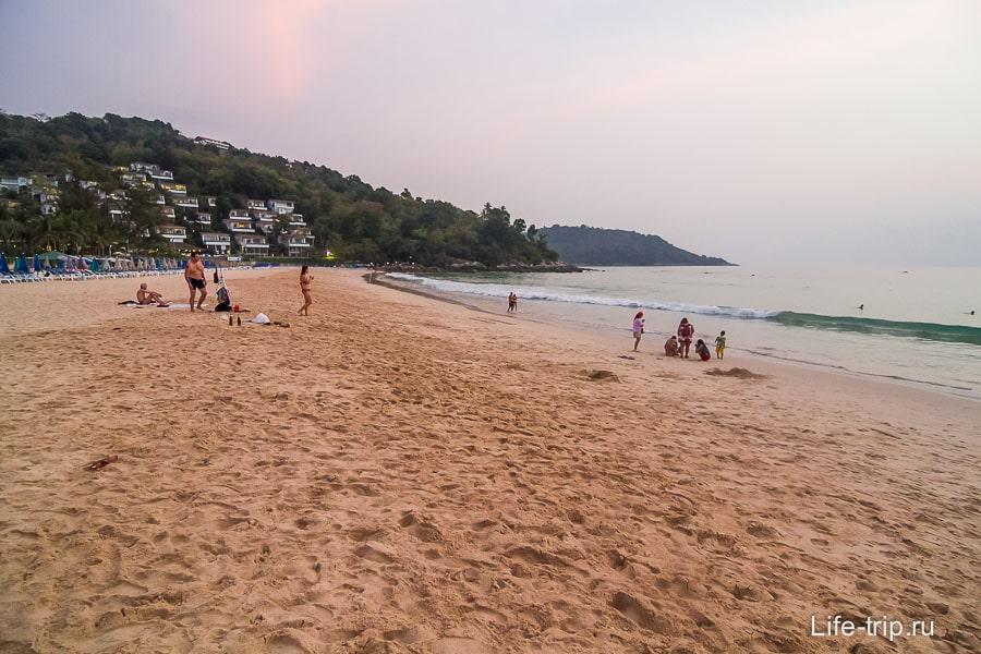 Пляж Ката Ной - Kata Noi Beach