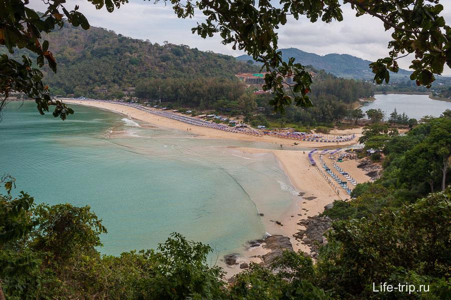 Пляж Най Харн - Nai Harn Beach