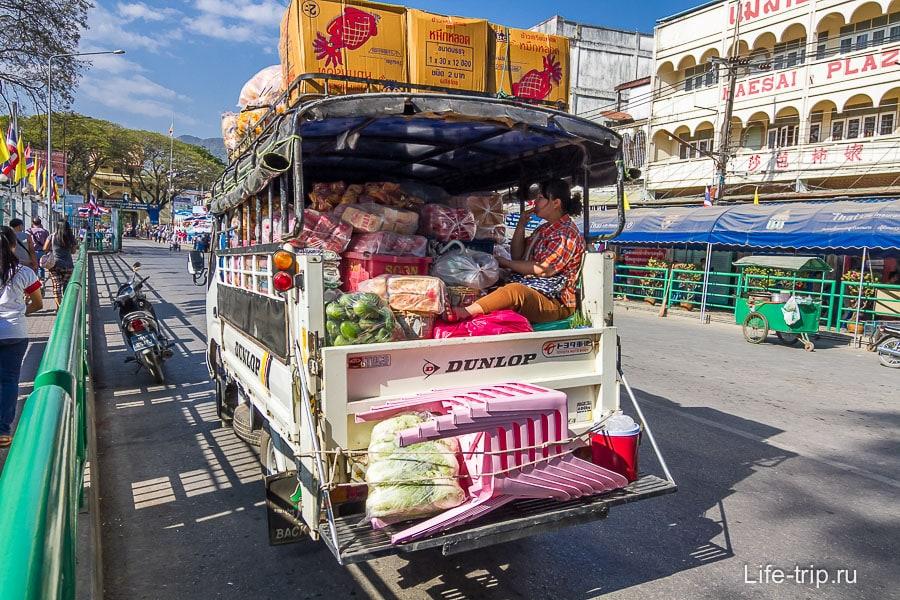 В Бирму везут всякое барахло