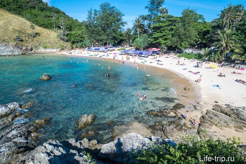 Пляж Януй (Yanui Beach) - укромный на самом юге Пхукета