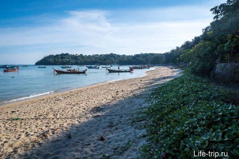 Пляж Равай (Rawai Beach) - не для купания, а для аренды дома