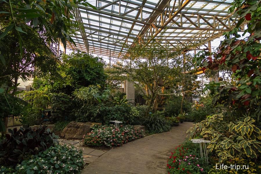 Тропический павильон
