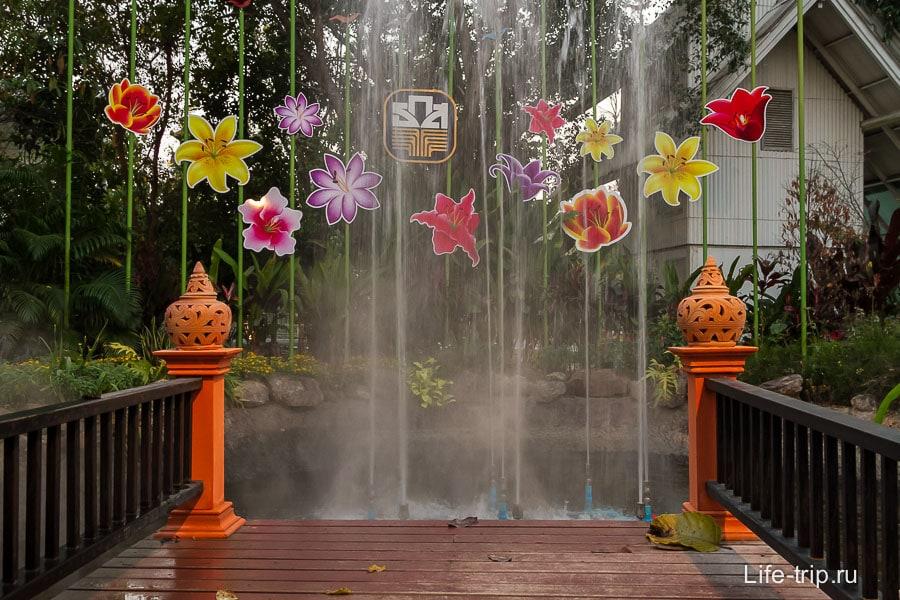 Мини-фонтан