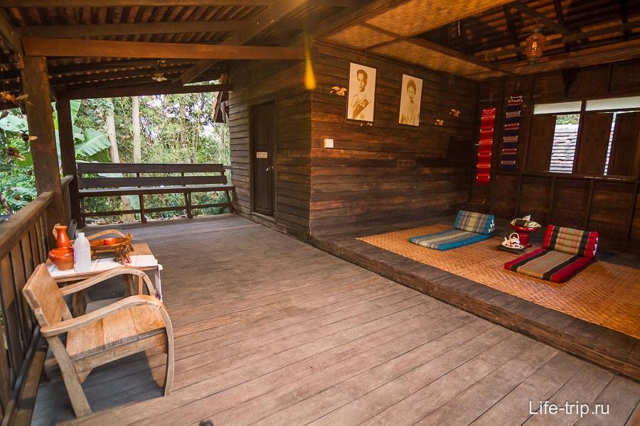 Типа традиционное тайское жилье