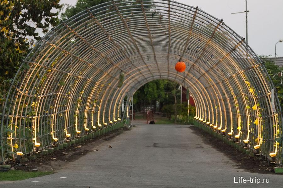 Светящийся коридор
