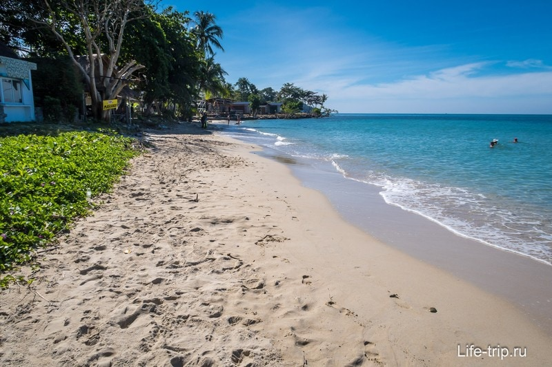 Пляж Лонли на острове Чанг