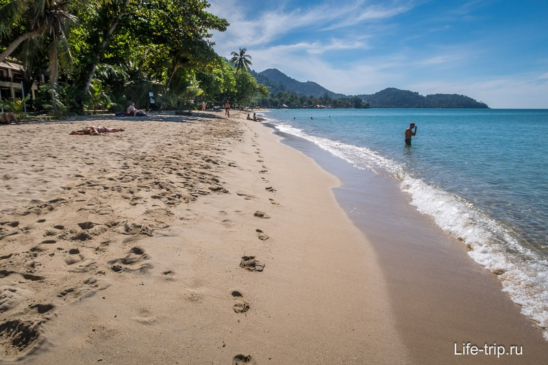 Пляж Лонли на Ко Чанге