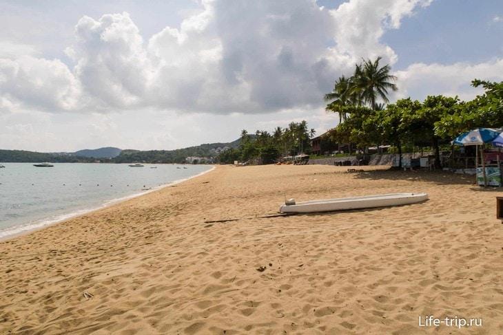 Пляж Бо Пхут (Bo Phut Beach) - удобный для жизни и отдыха