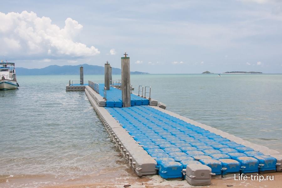 Пляж Бо Пхут - Bo Phut Beach