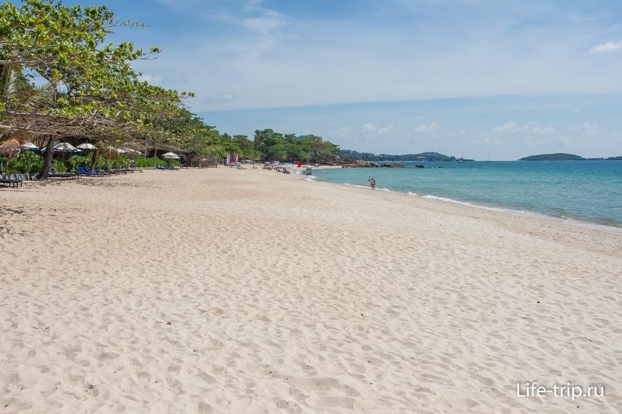Пляж Чавенг Ной - Chaweng Noi Beach