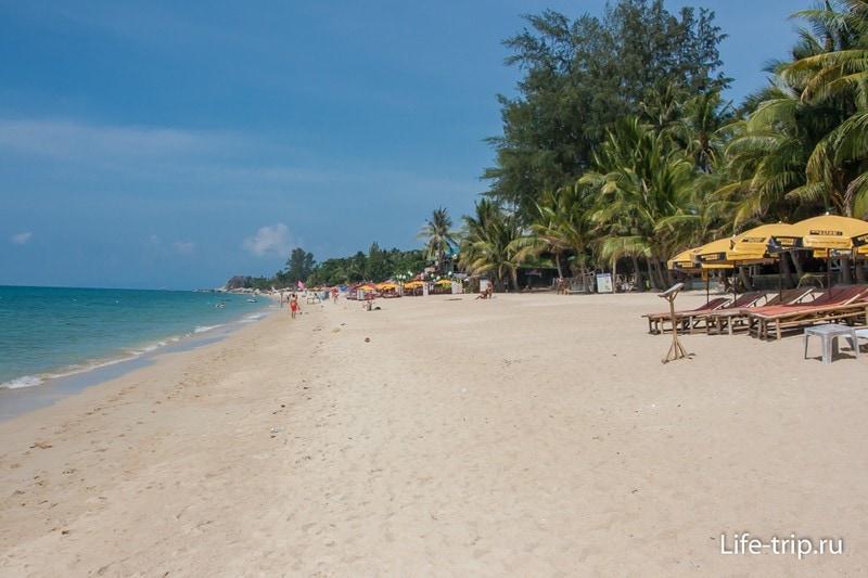 Самый лучший пляж на Самуи - Ламай