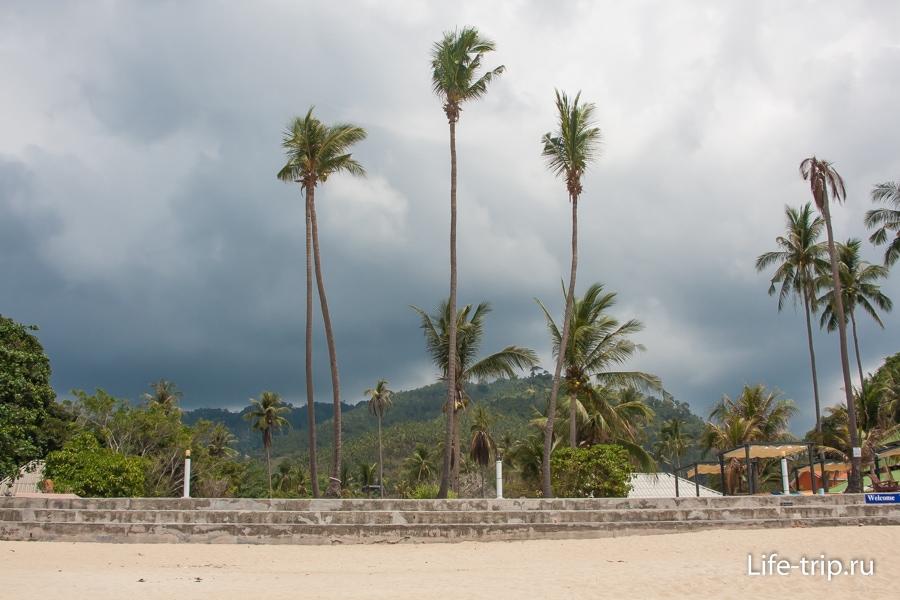 Пляж Ламай, Южная часть - Lamai Beach