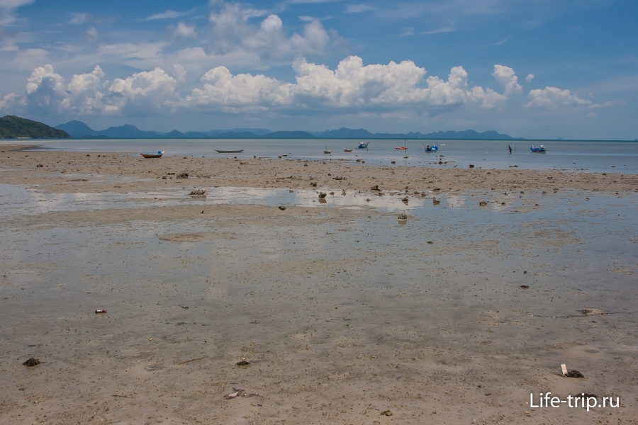 Пляж Пляж Тонг Крут - Thong Krut Beach