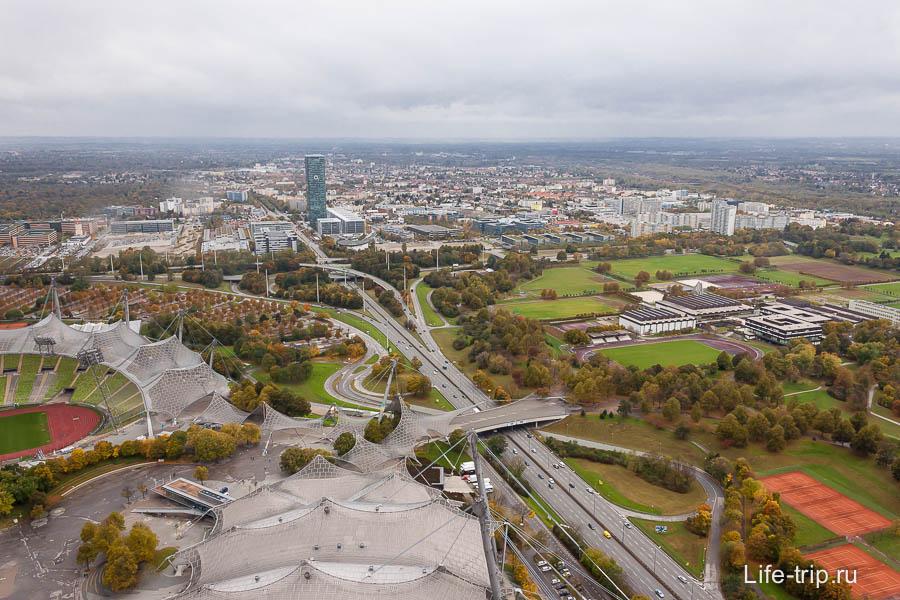 Вид с Олимпийской башни