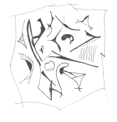 Рисунки во время телефонного разговора