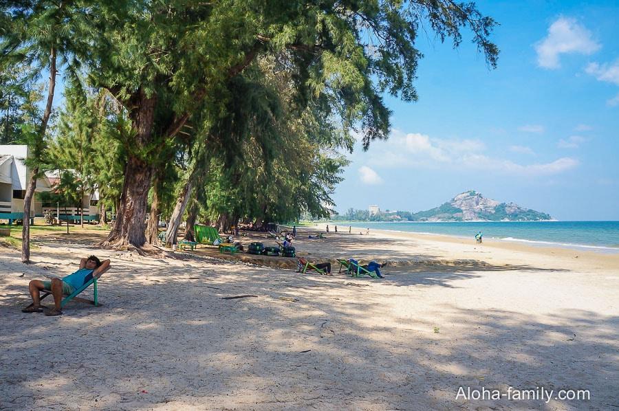 Военный пляж Suan Son