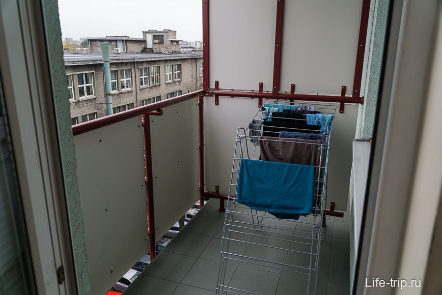 Обычный балкон