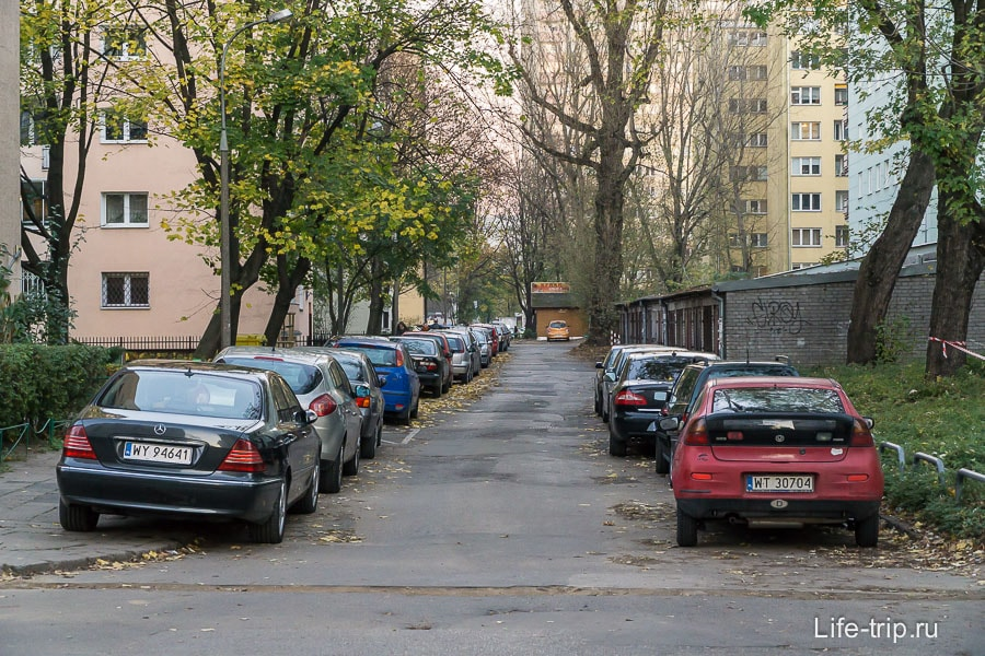 Варшавские дворики в нашем районе