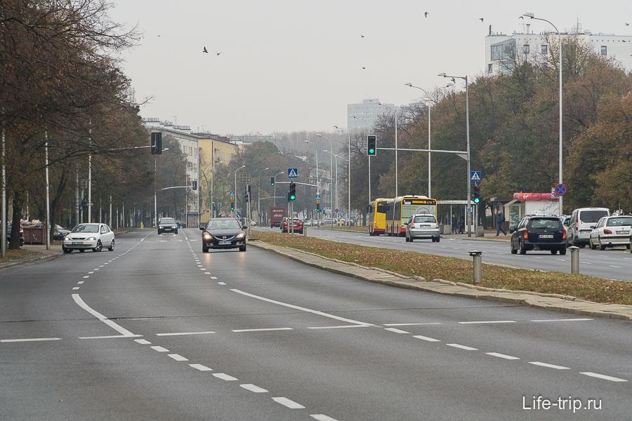 Улица Гагарина, Варшава
