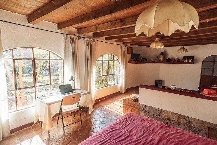 Комната за 800 рублей в сутки, в которой мы жили в Гуанахуато