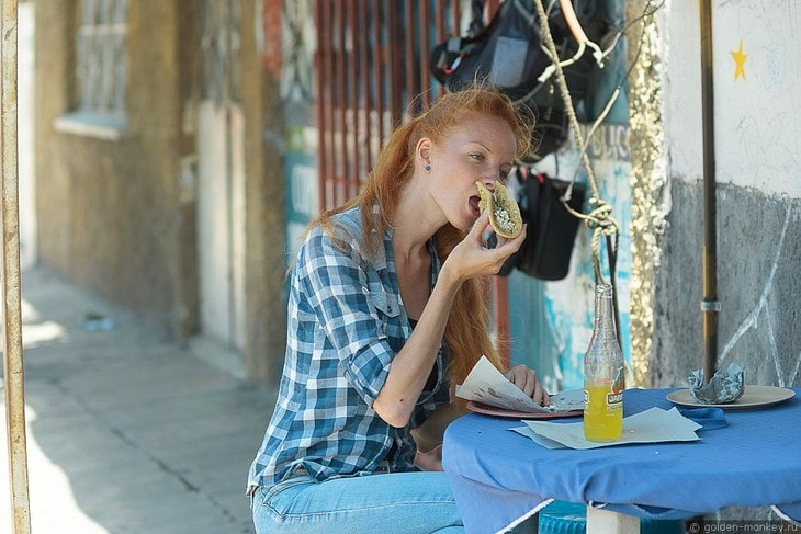 Шеболдасик и уличная еда. Антисанитария?