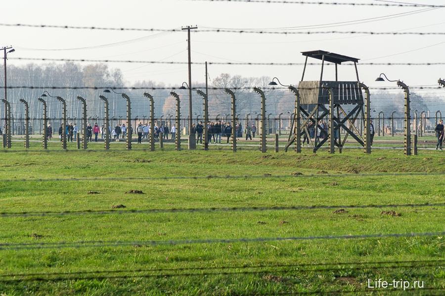 Аушвиц-Биркенау имеет огромную територию