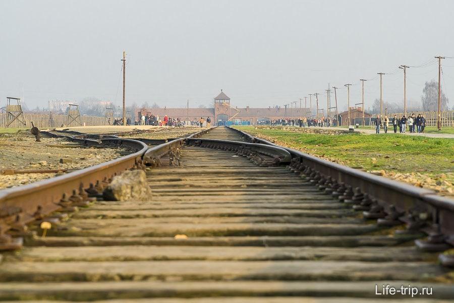 Железнодорожные ворота смерти изнутри