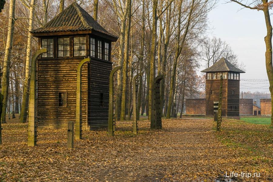 На окраине Аушвиц-Биркенау