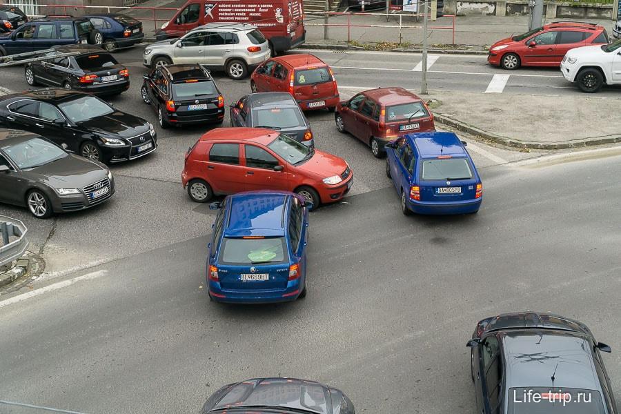 Такой знакомый коллапс на дорогах