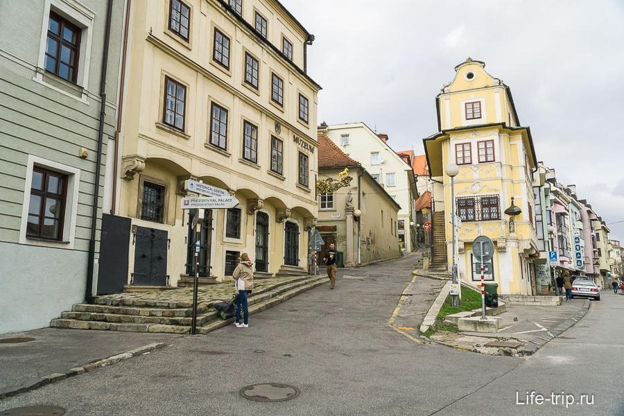 Улочки старого города Братиславы