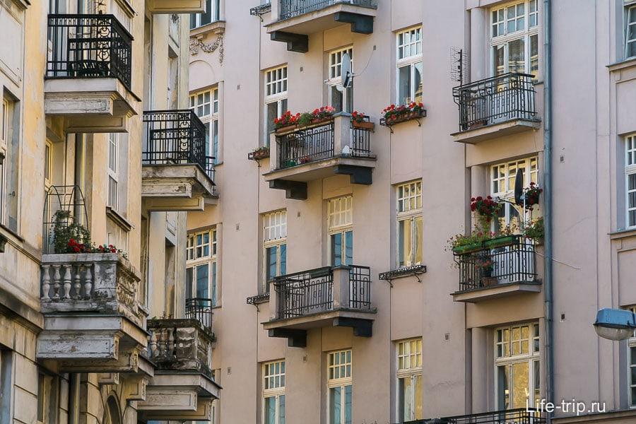 Дворики в центре города