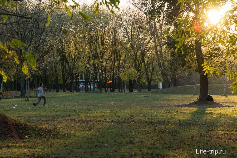 Мокотувское поле. Варшава.