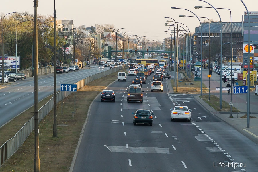 Улица Черняковская, вид в область