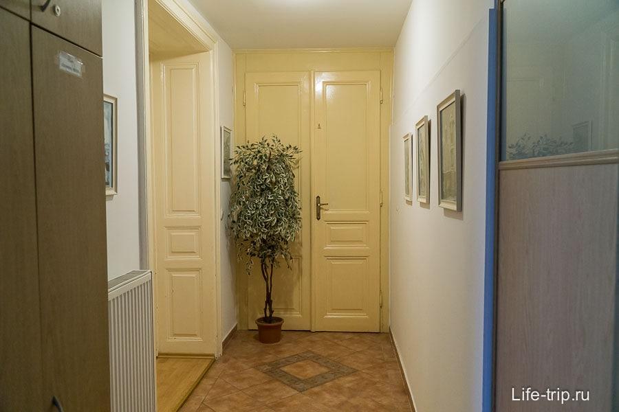 Общий коридор с другими квартирами