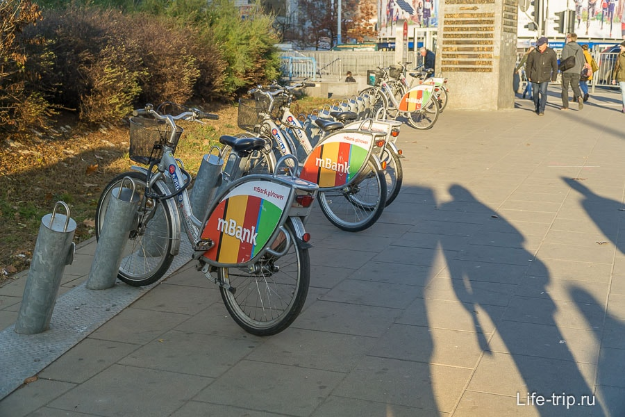 Велопрокат в Варшаве