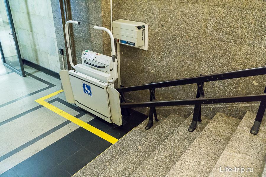 Все оборудовано для инвалидов