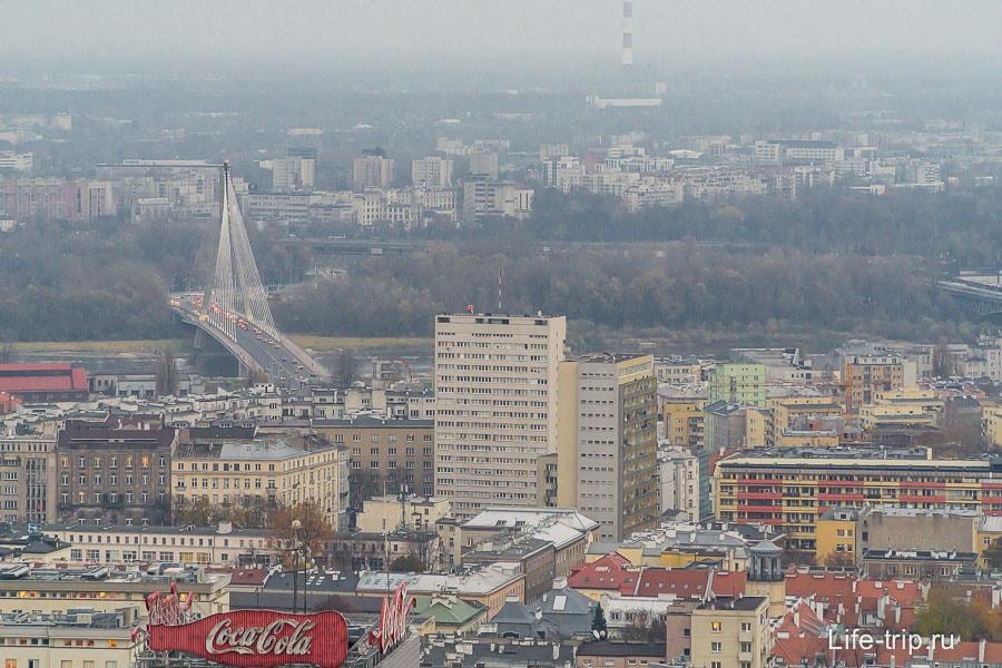 Варшава с высоты 114 метров